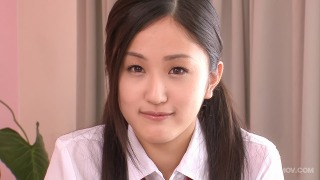 Ai Wakana the schoolgirl creampies after getting fucked from behind pic #1