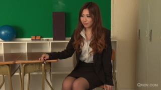 Mai Kamio teaches 2 students all about sex  pic #3