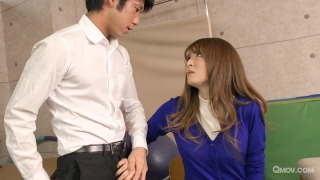 Miku Ohashi bangs a co-teacher after blowing a student pic #1
