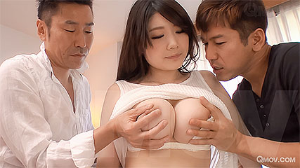 Rie Tachikawa fills her vag with cock mayo twice